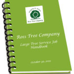ross tree large tree job handbook
